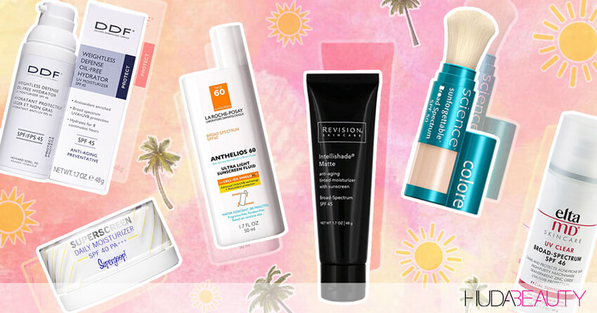 6 Derm-Approved Sunscreens That Are Actually So Bomb