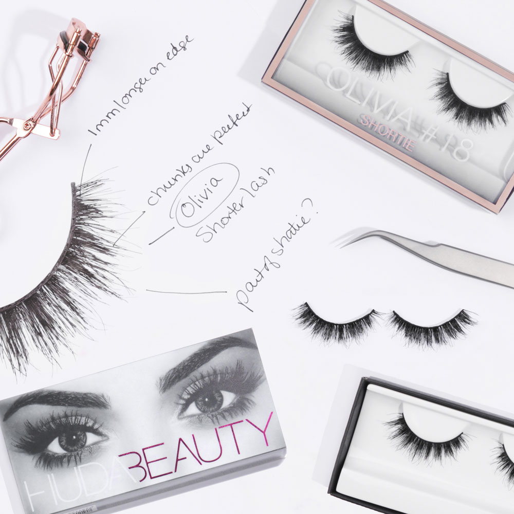 huda beauty olivia lash