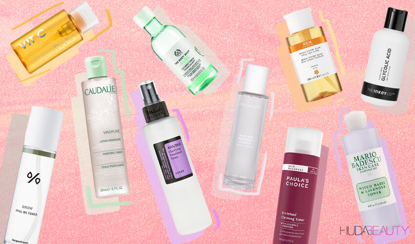 The 10 Best Toners That Will Fix Every Skin Issue Blog Huda Beauty