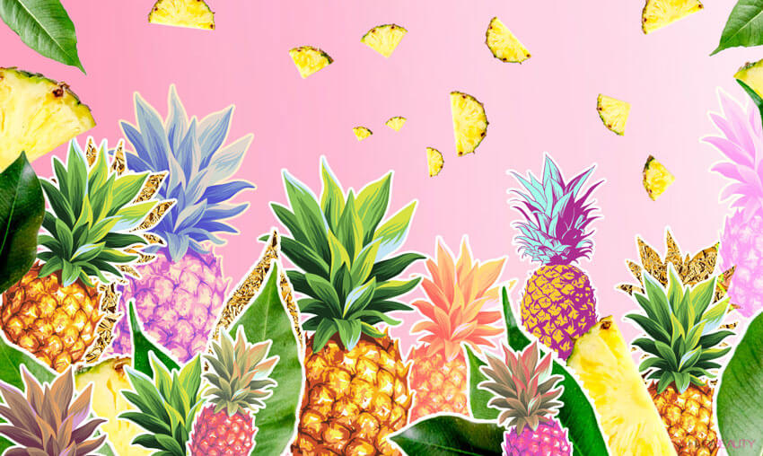pineapples in skincare