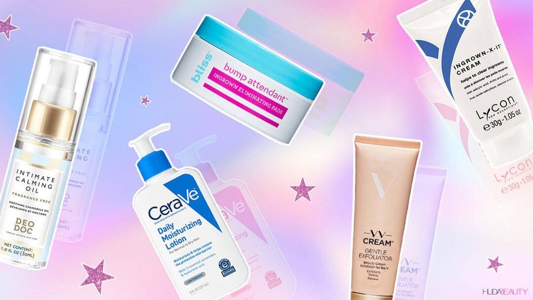 Products for bikini line