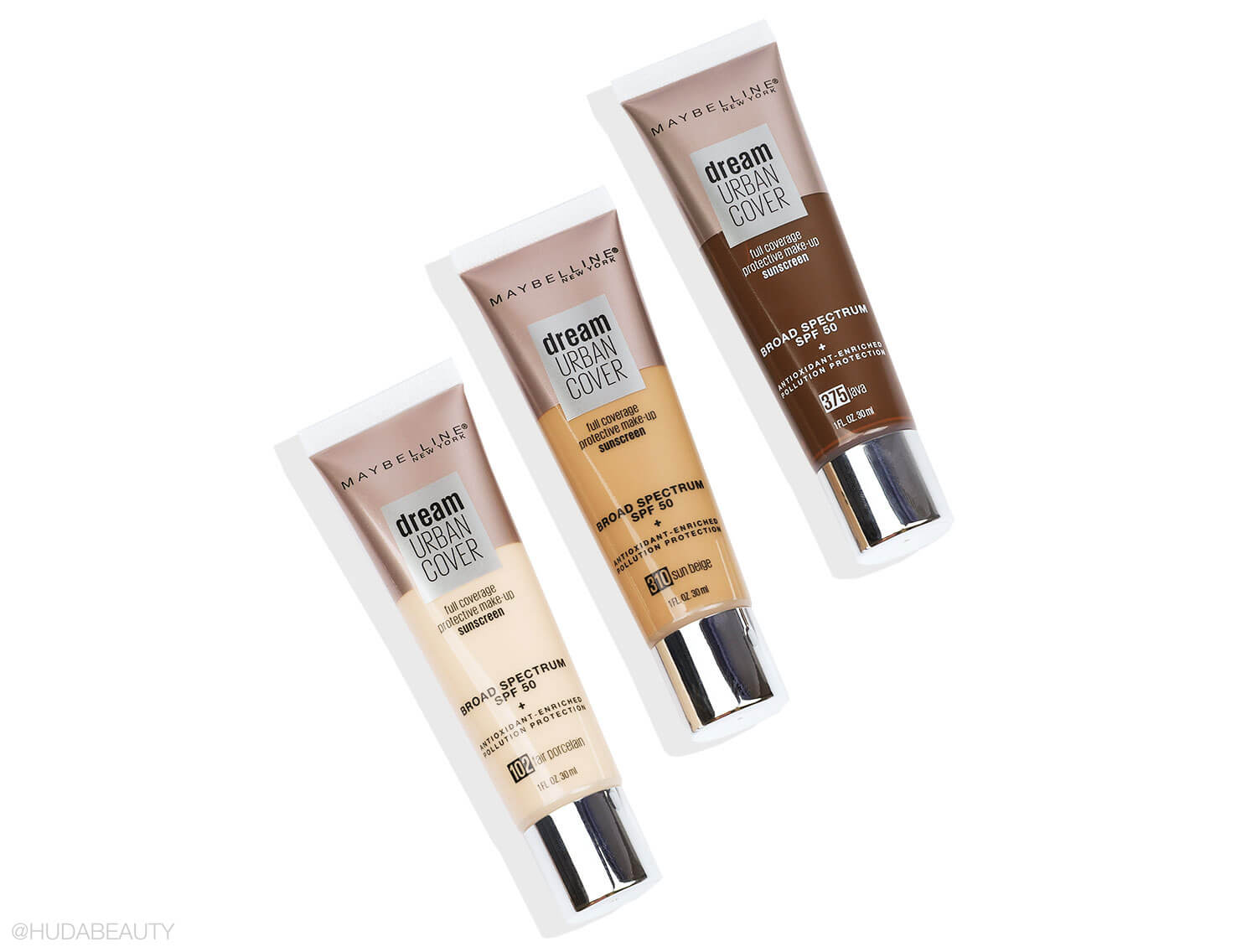 Maybelline Dream Urban Cover Flawless Coverage Foundation