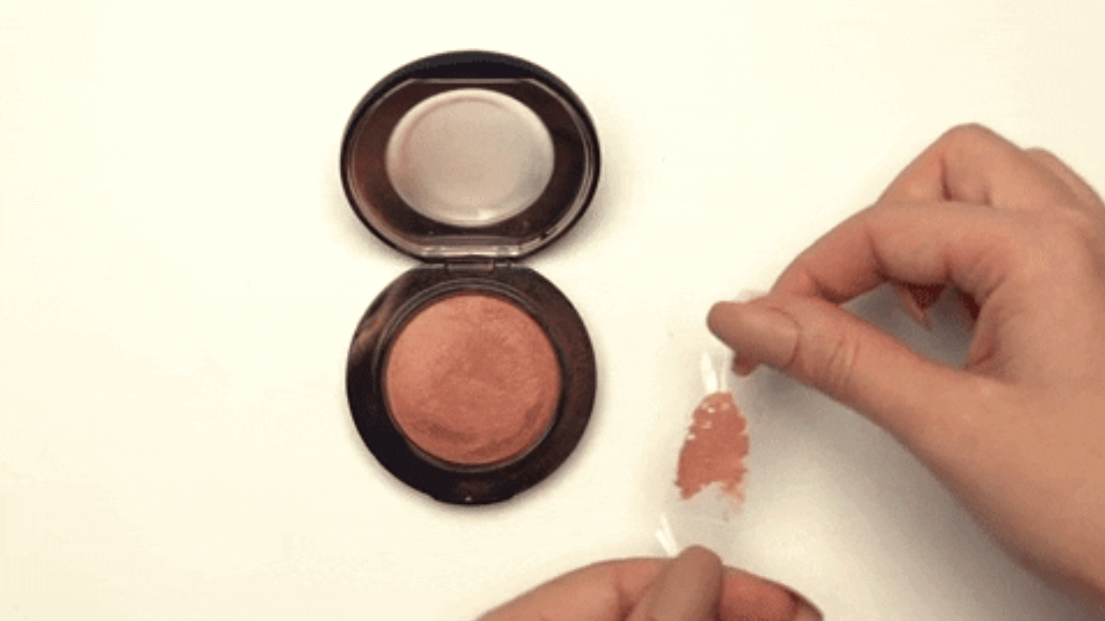 How To Remove That Nasty Wax Layer From Your Powder Products