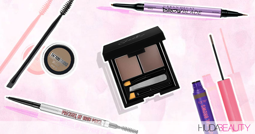 5 Of The Best Brow Products, EVER!