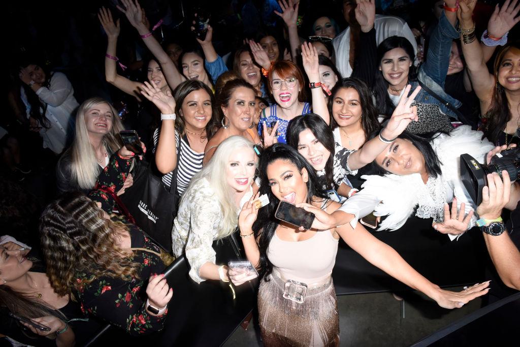Huda Kattan at Beautycon