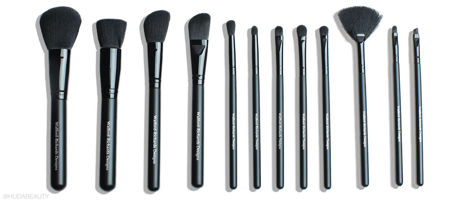 Complete Makeup Brush Colle