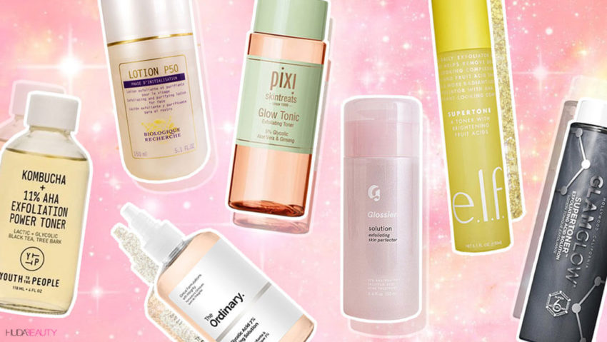 7 Exfoliating Toners That Ll Give You The Glowiest Skin Blog