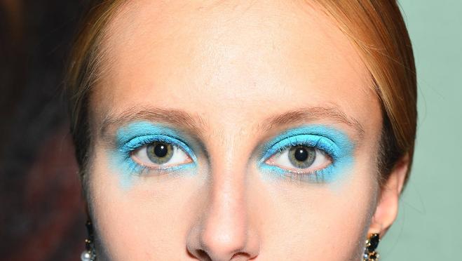 watercolor eyeshadow trend
