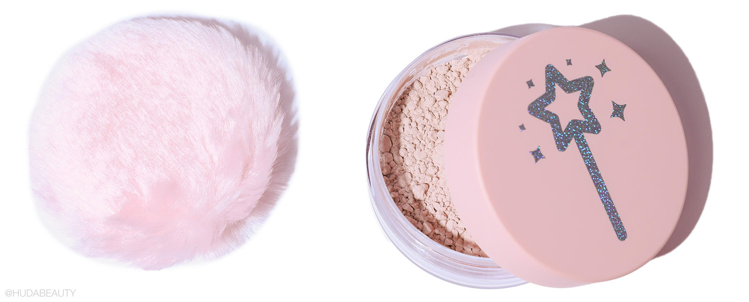self tan setting powder