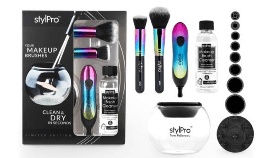 stylpro brush cleaner machine