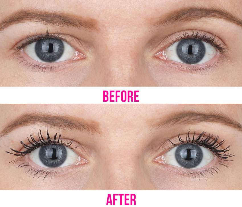 IT Cosmetics Lash Blowout Mascara before and after