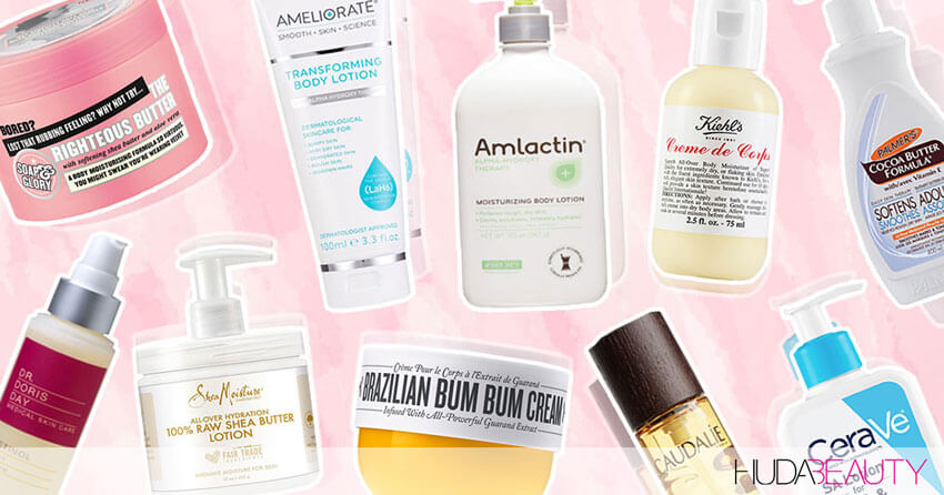 The 10 Best Body Lotions For Sexy Smooth Skin
