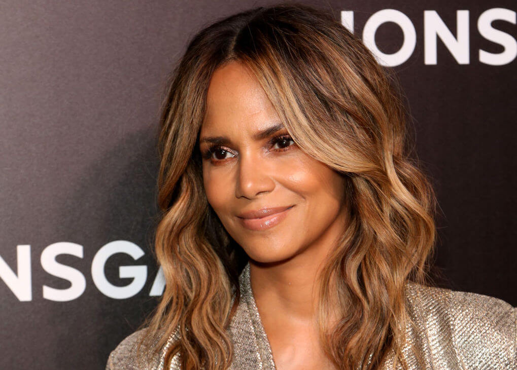 glowing skin halle berry