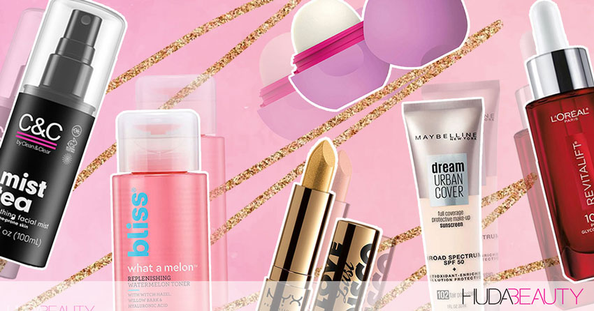 6 New Drugstore Products For Glowing Skin & Flawless Makeup