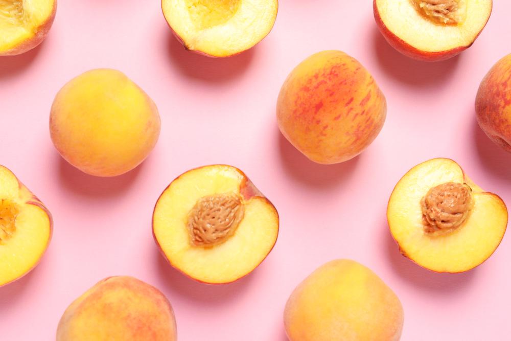 peach skincare