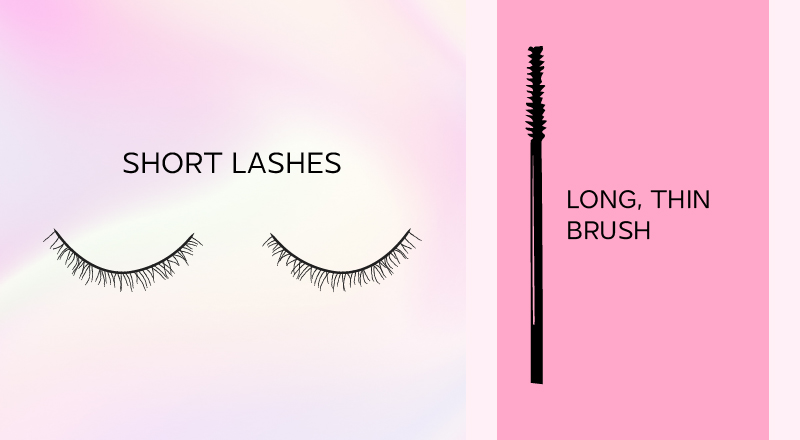 short lashes