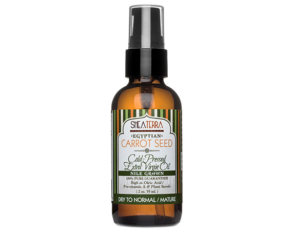 2. Naturopathica Carrot Seed Soothing Facial Oil,