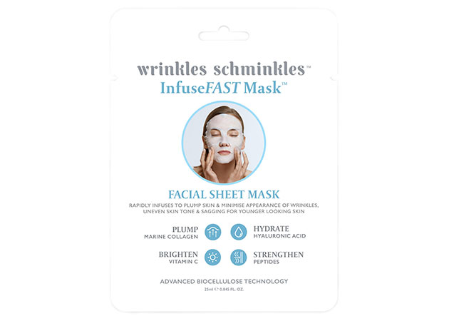 Wrinkles Schminkles InfuseFAST Facial Sheet Mask