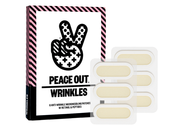 Peace Out Microneedling Anti-Wrinkle Retinol Patches,