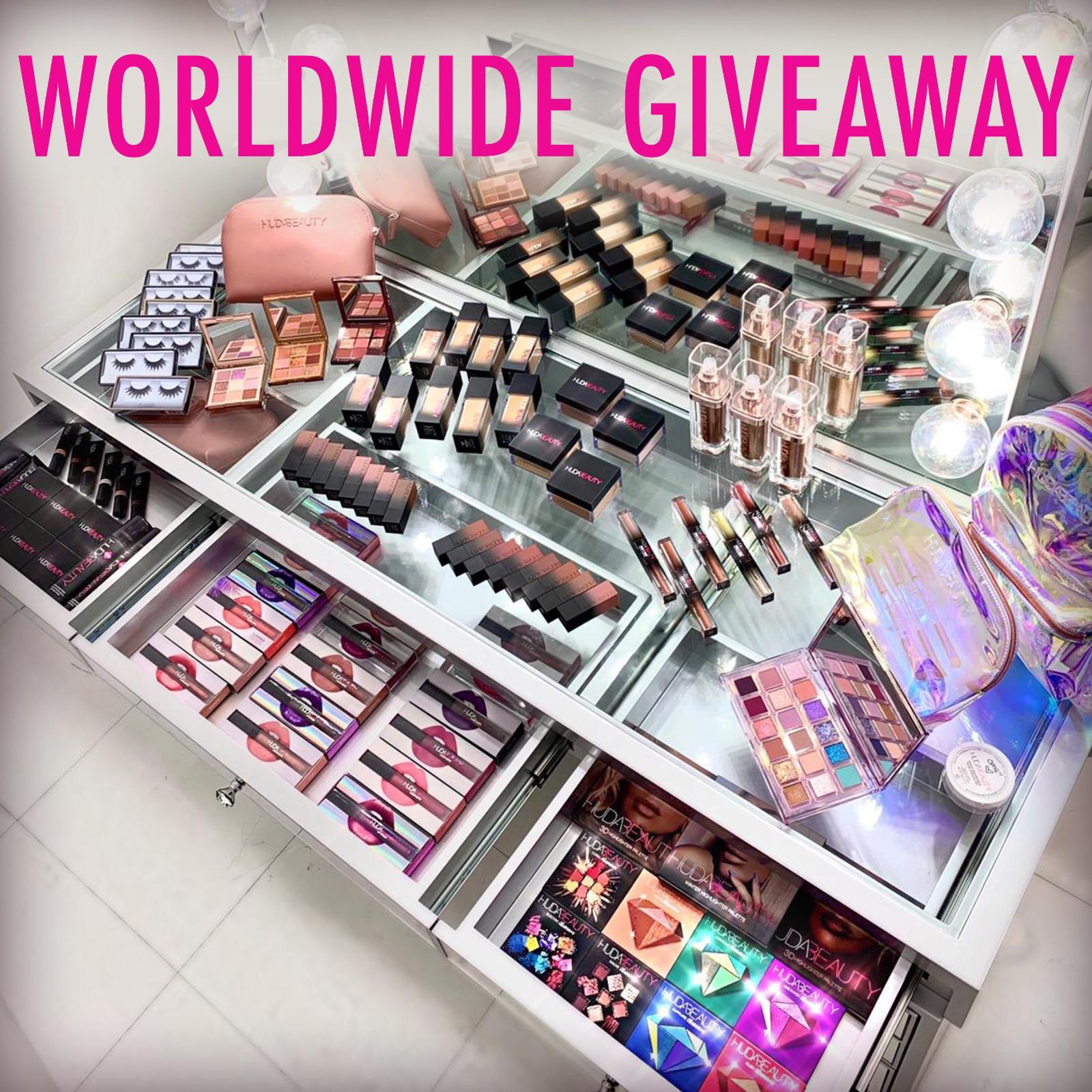 Worldwide giveaway