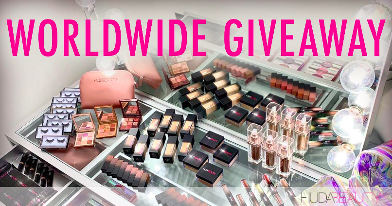 How To Enter Our INSANE Shop Huda Beauty 2020 Giveaway