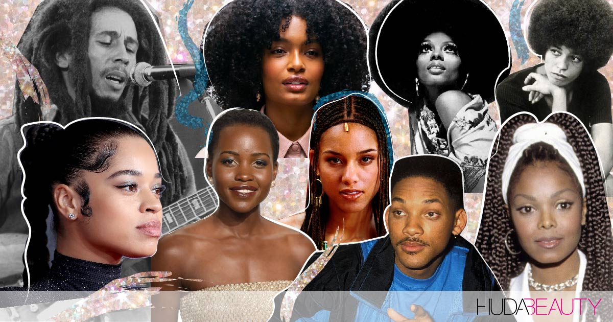 Celebrating 10 Truly Iconic Hairstyles For Natural Hair