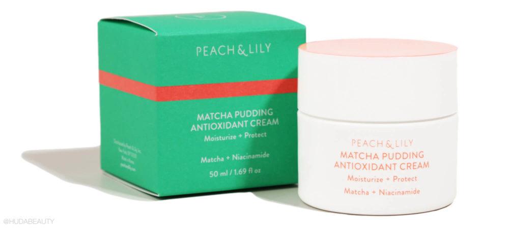 matcha pudding moisturizer
