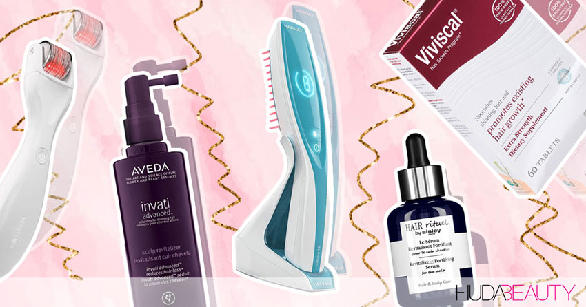 5 Products I Use To Treat Hair Loss And Boost Growth!