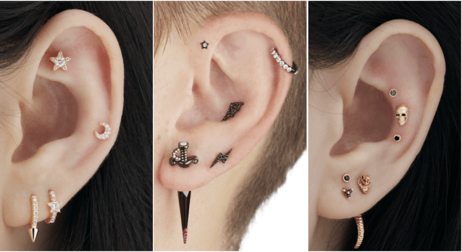 ear stacking theme
