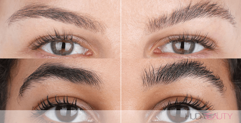 How To Fake Laminated Brows In Seconds!