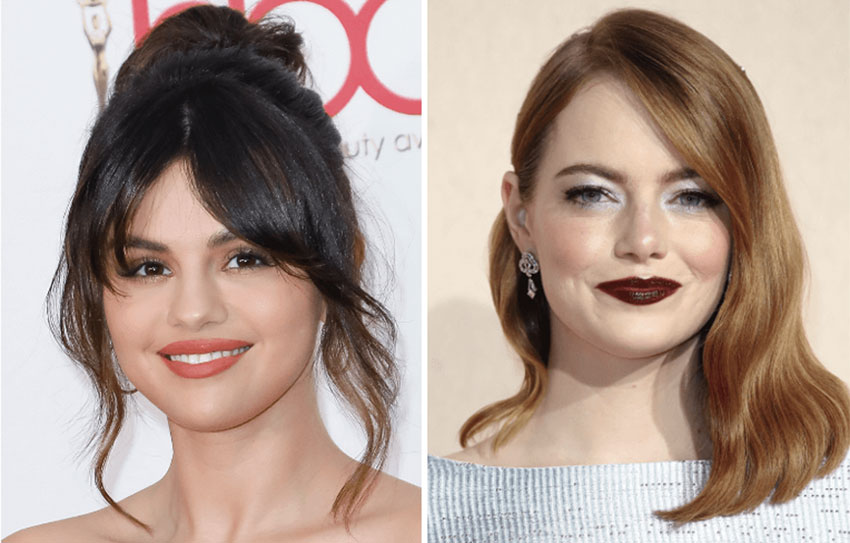 bangs to flatter your face