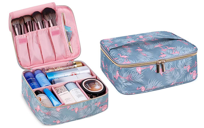 7 Travel-Friendly Makeup Bags That Are Pretty AF