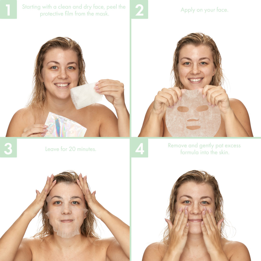 How to Use the Thirst Trap Cocoon Mask