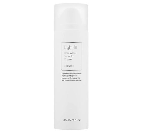 CosRx's Light Fit Real Water Toner to Cream