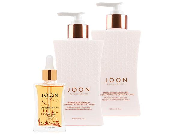 JoonSaffronRose Shampoo and Conditioner,