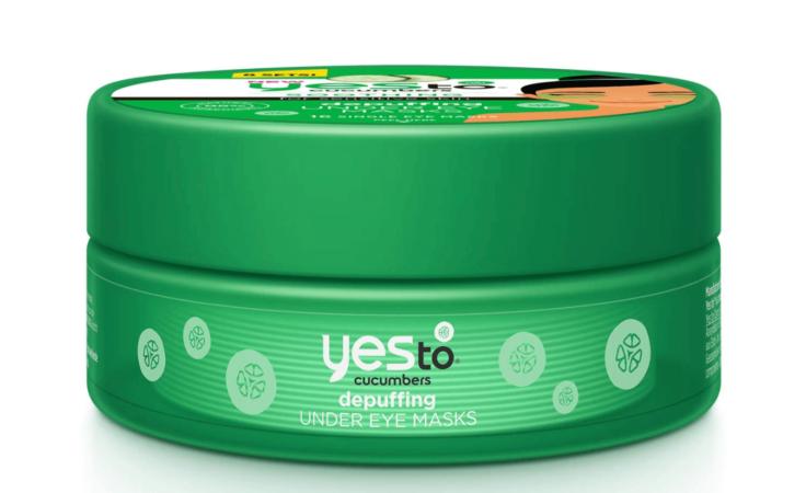 Yes to Cucumbers Depuffing Under Eye Masks