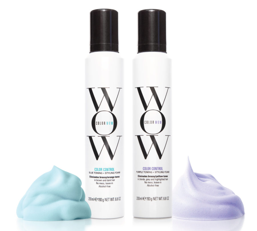 color wow color correcting mousse