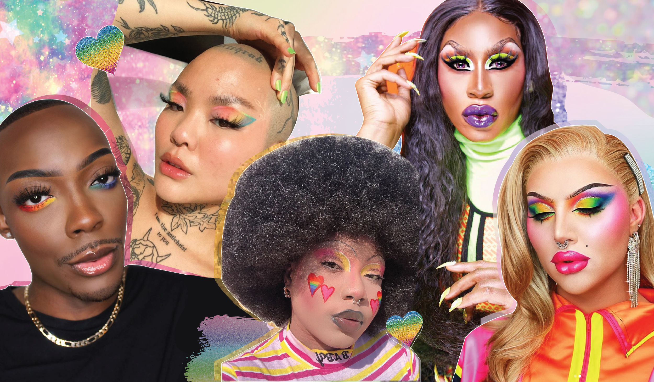 11 Stunning Pride Makeup Looks To Recreate at Home