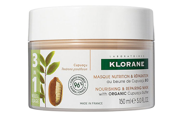 Klorane Nourishing & Repairing 3-in-1 Mask with Organic Cupuacu Butter