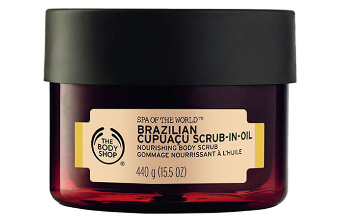 The Body Shop Brazilian Cupuacu Scrub-In-Oil Nourishing Body Scrub