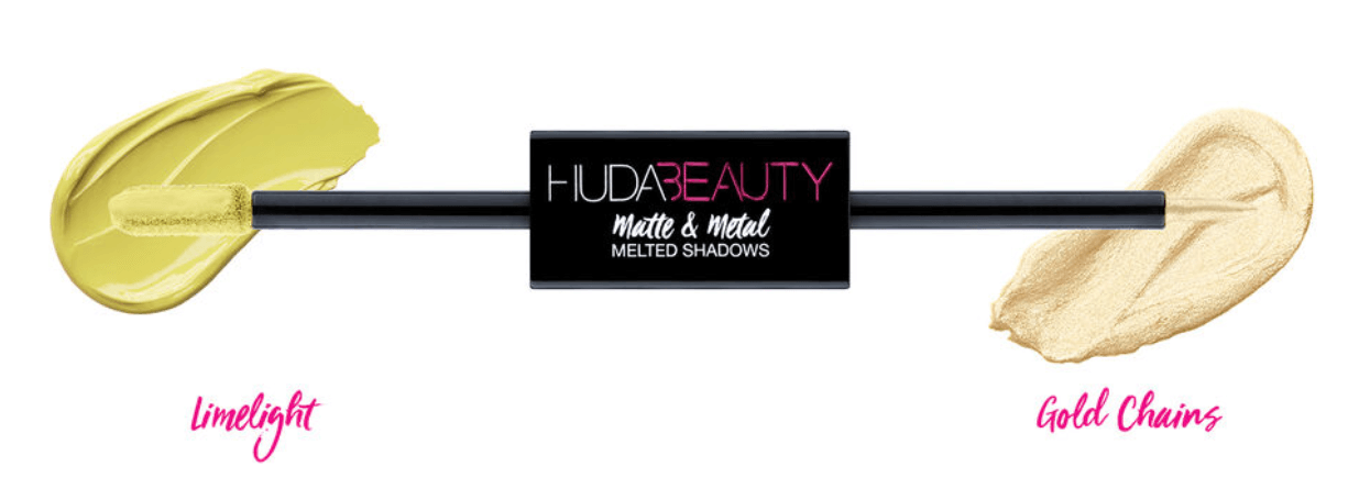 Huda Beauty Matte & Metal Melted Double Ended Liquid Eyeshadows