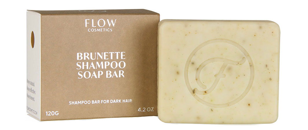 Flow Cosmetics Brunette, Blonde and Henna Red Shampoo Bars
