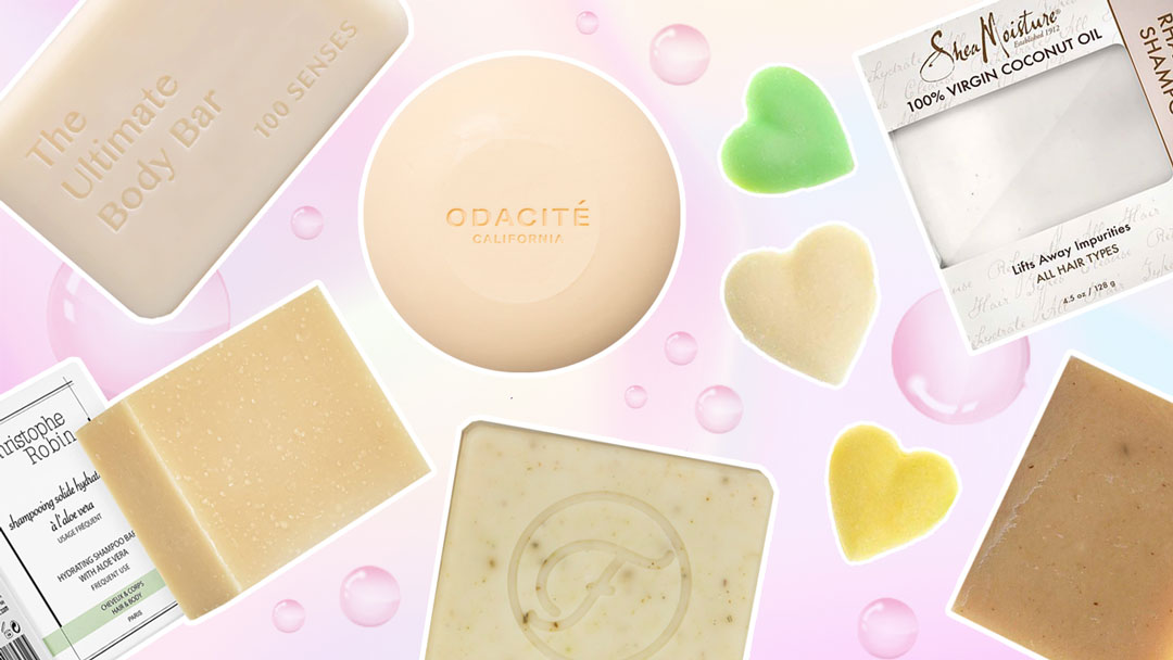 These Shampoo Bars Promise Soft AF Hair (And Minimize Waste)