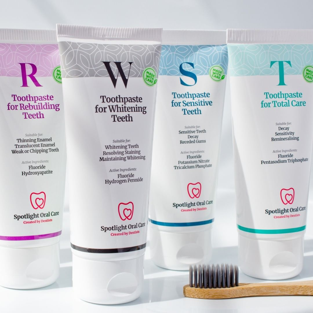 spotlight toothepaste