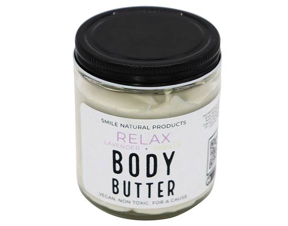 smile natural products body butter