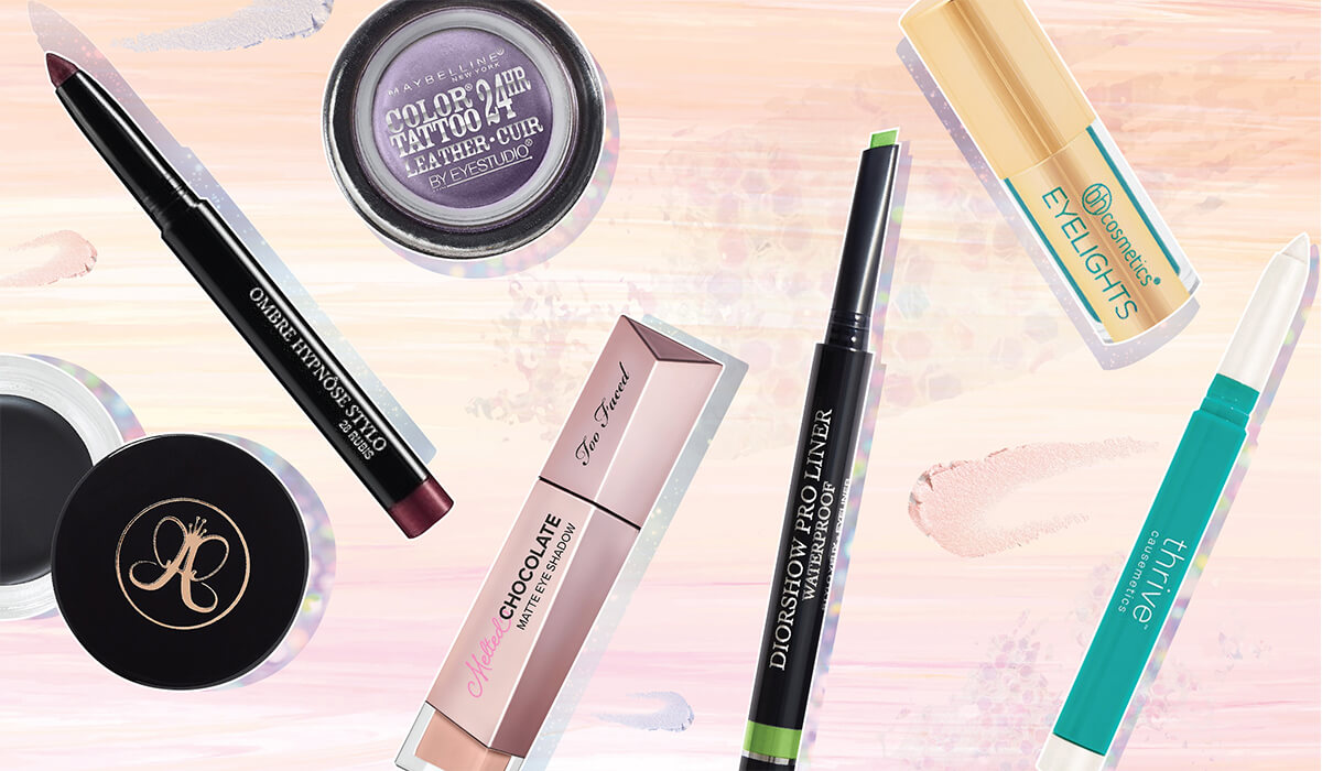 9 Waterproof Eyeshadows And Liners That Never Budge