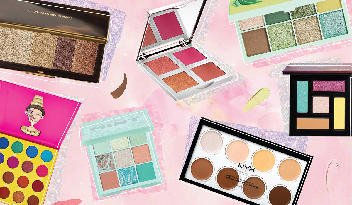 9 Mini Makeup Palettes That Are Cute And So Convenient