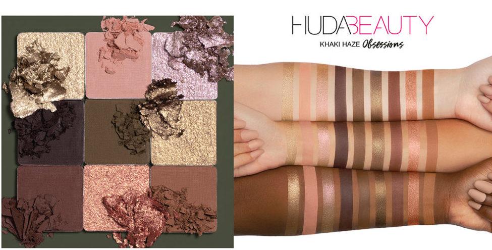 Huda Beauty Khaki Haze obsessions