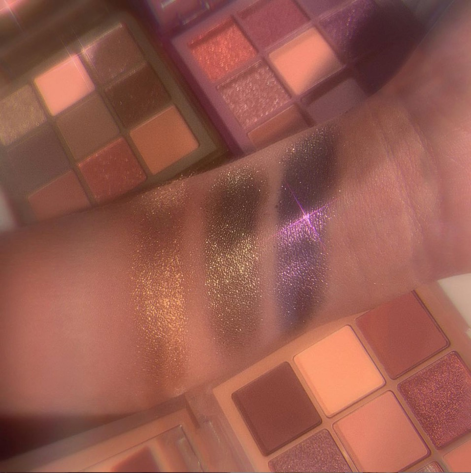 Haze Obsessions swatches