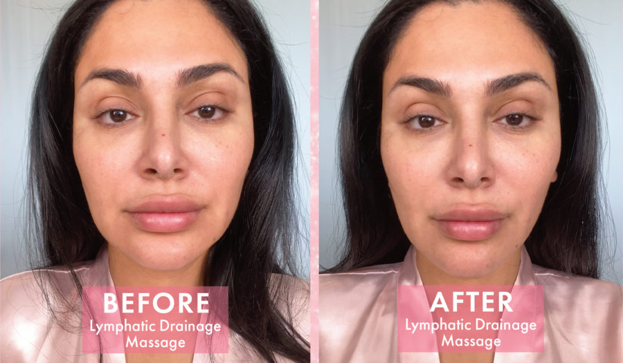 Lymphatic Drainage Will Sculpt & Tone Your Skin (For Free)
